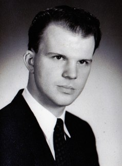 Scanned from yearbook photo