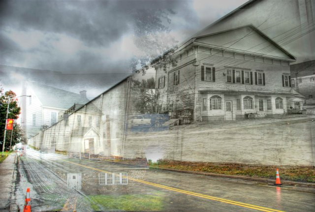Clinton Prison & Dannemora composite by R.J.F.