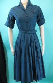Vintage shirtwaist housedress