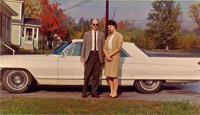 Us and our Cadillac