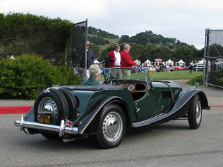 Morgan sport car