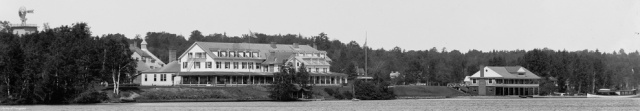 Saranac Inn around 1890-1920