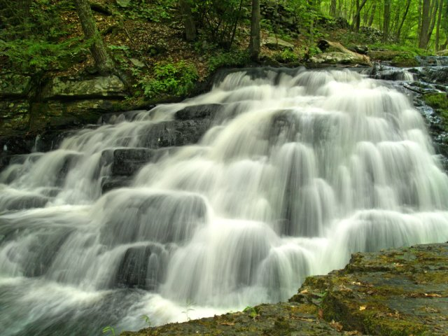 Bushkill Falls, Niagra of PA