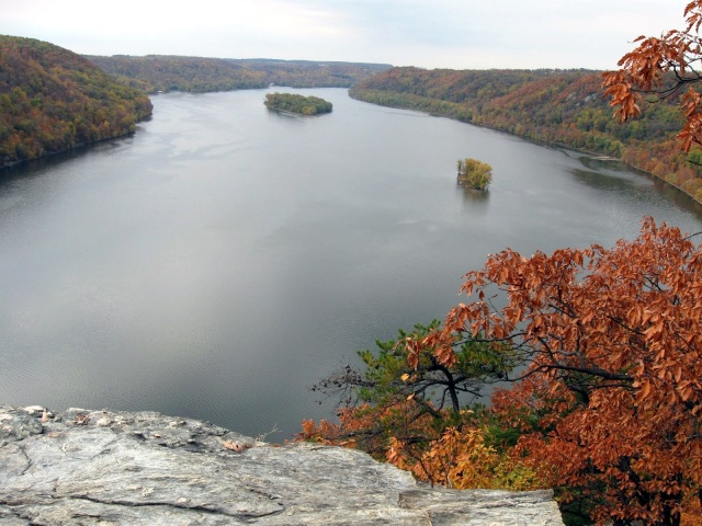 Susquehanna river at Holtwood Pinnacle