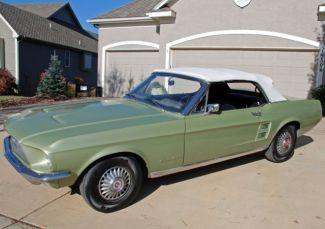 67 Mustang convertible