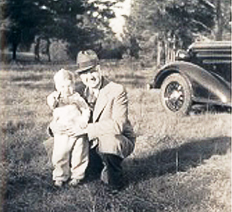 Dad and Bob 1938